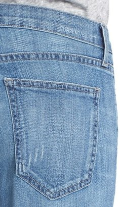 Current/Elliott 'The Stiletto' Stretch Jeans (Amour Released Hem)