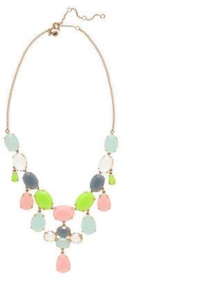 J.Crew Crystal drops necklace