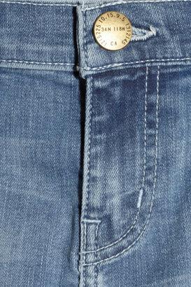 Current/Elliott The Moto Stiletto mid-rise skinny jeans