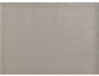 Crate & Barrel Miles Silver Placemat