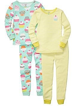 Carter's Carter's® 4-pc. Cupcake Pajamas - Girls 12m-24m