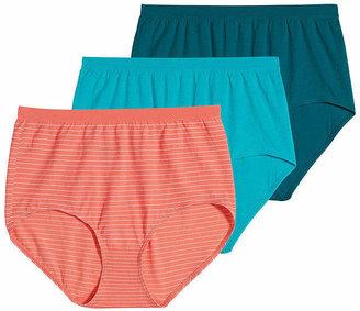 30488f2c7d3c Jockey Comfies Cotton 3-pk. Brief Panties - 3348