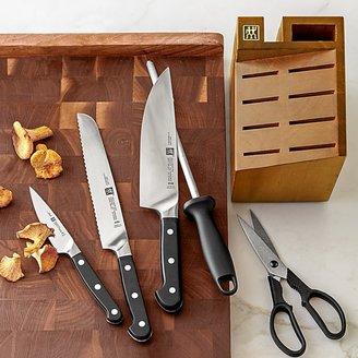 Zwilling J.A. Henckels Pro 6-Piece Knife Block Set