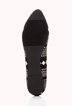 Forever 21 Striking Geo Loafers