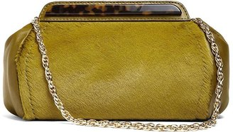 Brooks Brothers Haircalf Clutch