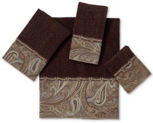 "Avanti Bath Towels, Bradford 16"" x 30"" Hand Towel Bedding"