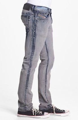 Diesel 'Thavar' Skinny Fit Selvedge Jeans (0819D)