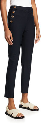 Derek Lam 10 Crosby Kelis Straight-Leg Sailor Pants