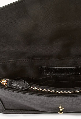 Forever 21 Cocktail Hour Faux Leather Clutch