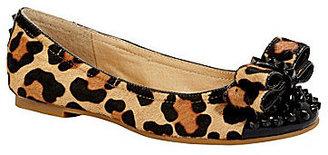 Gianni Bini Feisty Leopard-Print Flats
