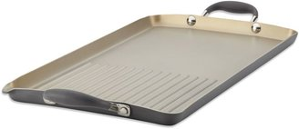 Anolon Advanced Pewter Double Burner Griddle and Grill Pan
