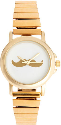 Asos Moustache Face Expander Watch