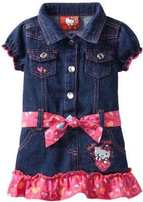 Hello Kitty Baby-girls Infant Dress With Heart Print Belt