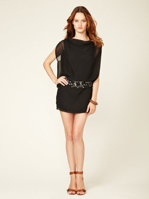 Antik Batik Embellished Belted Mini Dress