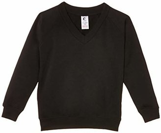 "Trutex Unisex V-Neck Sweatshirt,(Manufacturer Size: 20-22"" Chest)"
