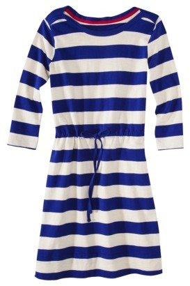 Merona Women's Rugby Shirt Dress - Stripes