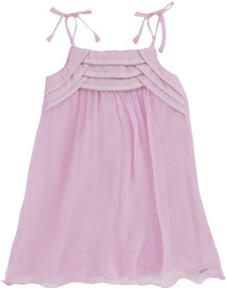 Chloé Beaded Pleat Front Dress