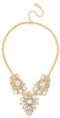 BaubleBar Crystal Winged Necklace