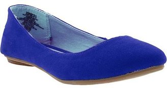 Old Navy Women's Sueded Pointed-Toe Flats