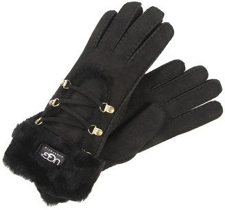 UGG Classic Short Igloo Glove (Chocolate) - Accessories