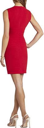 BCBGMAXAZRIA Blakeley Ruched Dress