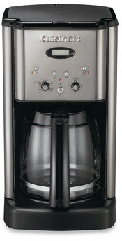 Cuisinart Brew Central™ 12-Cup Programmable Coffee Maker in Black and Chrome