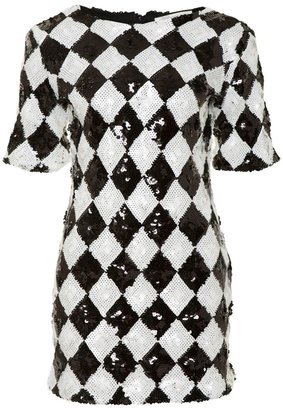 A/Wear Glamorous Harlequin Dress