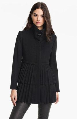 George Simonton Couture Pleated Walking Coat