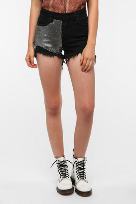 Urban Outfitters UNIF Metal Cutoff Short