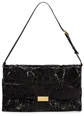 Stella McCartney Steel Shoulder Bag, Black