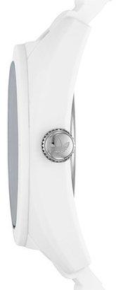 adidas 'Santiago' Silicone Strap Watch, 42Mm