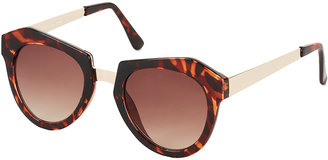 Topshop Butterfly Cats Eye Sunglasses