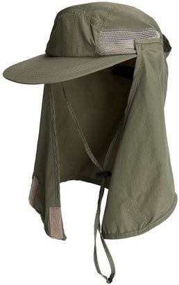 Dorfman Pacific Headwear Outdoor Design Flap Cap - Microfiber (For Men and Women)