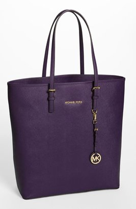 MICHAEL Michael Kors 'Jet Set - Travel' Saffiano Leather Tote, Extra Large