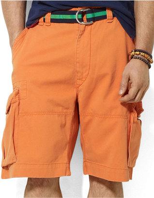 Polo Ralph Lauren Big and Tall Shorts, New Gellar Fatigue Vintage Chino Short