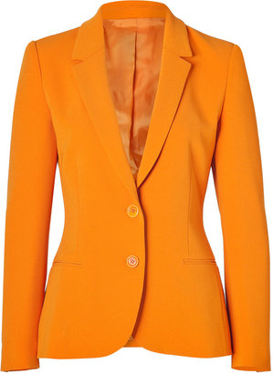 Moschino Cheap & Chic Orange Crepe Blazer