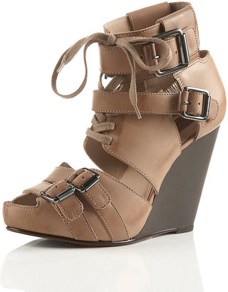 Topshop PACE Buckle Wedges