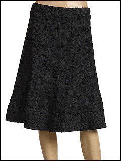 Nic+Zoe Lightweight Denim Flirt Skirt (Dark Indigo) - Apparel