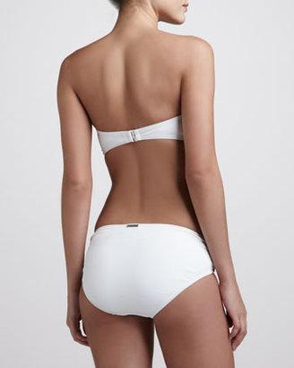 MICHAEL Michael Kors Cayman Hipster Bikini Bottom, White