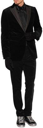 HUGO Silk Bow Tie in Black