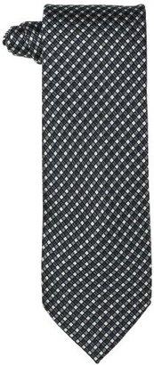 Geoffrey Beene Men's Matrix Neat Silk Tie with Gift Box