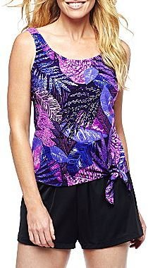 JCPenney Azul by Maxine of Hollywood® Blouson Tankini Swim Top or Shorts