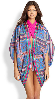 6 Shore Road by Pooja 7 Mile Embroidered Printed Jacket