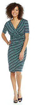 Evan Picone EvanPicone Evan-Picone® Print Surplice Dress