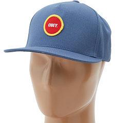 Obey Circle Patch Snapback Hat