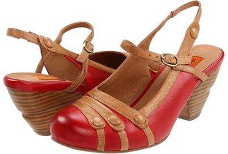 Miz Mooz Ella (Red) - Footwear