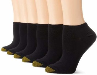 Gold Toe Women's 6 Pack Pair Jersey Liner Socks