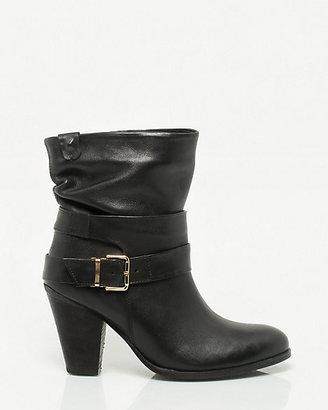 Le Château Leather Almond Toe Boot