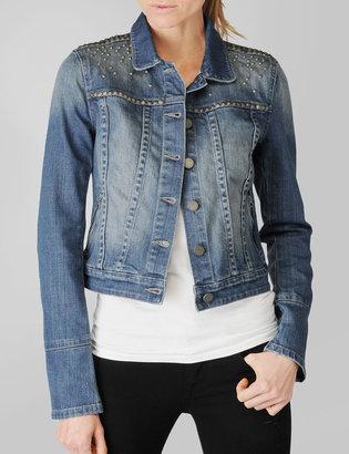 Paige Colbie Studded Denim Jacket - Freedom