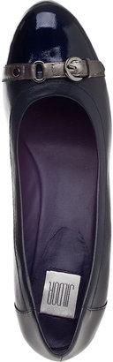 VANELi FOR JILDOR Lilibet Wedge Pump Black Leather